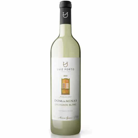 Vinho branco sauvignon blanc 750 ml - Luiz Porto - Dom de Minas