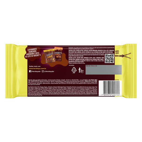 Chocolate ao Leite com Amendoim Hershey's Pacote 85g