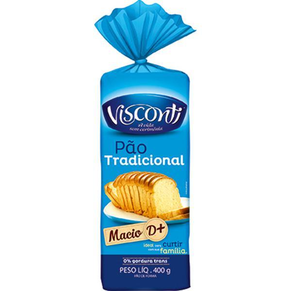 Pão de Forma Visconti 400G Tradicional