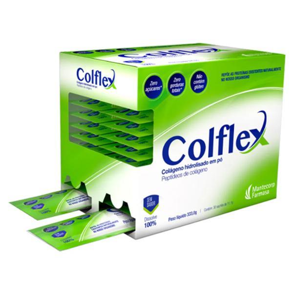 Colágeno hidrolisado em pó Colflex-contem 30 sachês