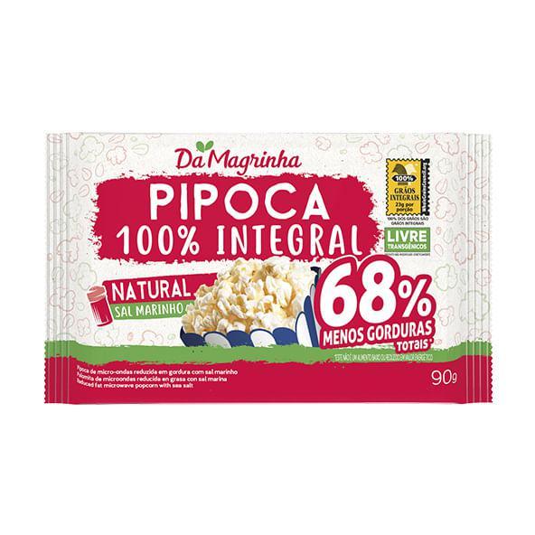 Pipoca Micro Da Magrinha 90G Natural