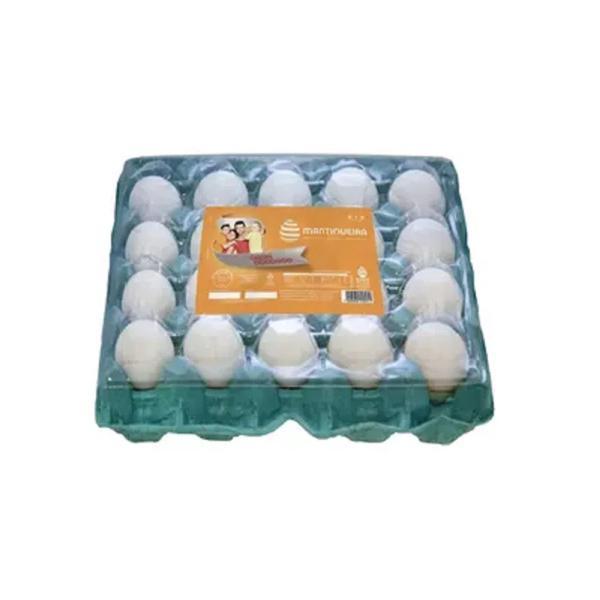 Ovos Brancos MANTIQUEIRA PVC com 20 Unidades
