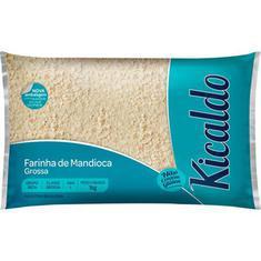 Farinha De Mandioca Kicaldo Branca Grossa 1Kg