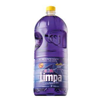 Desinfetante Gota Limpa 2L Lavanda