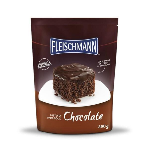 Mistura para Bolo FLEISCHMANN Sabor Chocolate 390g
