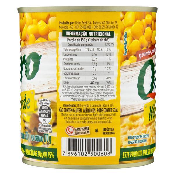 Milho Verde em Conserva Quero Lata 170g