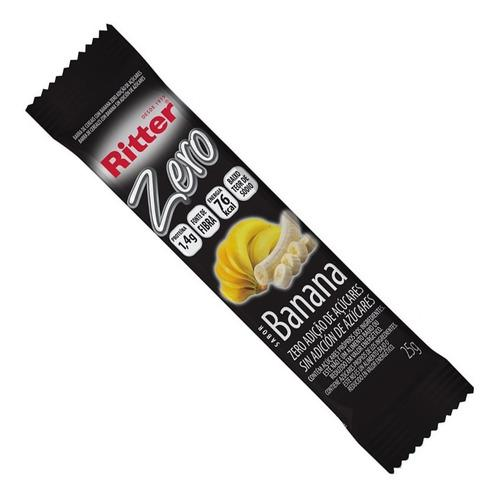 Barra Cereal Ritter 25G Banana.Zero