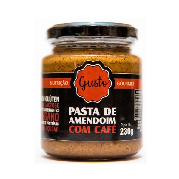 Pasta de Amendoim com Café 230g - Gusto Nutrição Gourmet