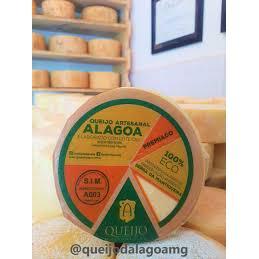 Queijo D'Alagoa - meia peça *medalha bronze Mondial du Fromage*