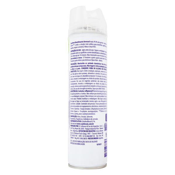 Desinfetante Superfícies Spray Original Lysoform Frasco 360ml