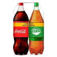 Kit Coca Cola e Fanta Guraná 2L