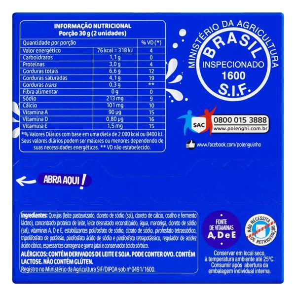 Pack Queijo Processado UHT Original Polenguinho 68g 4 Unidades