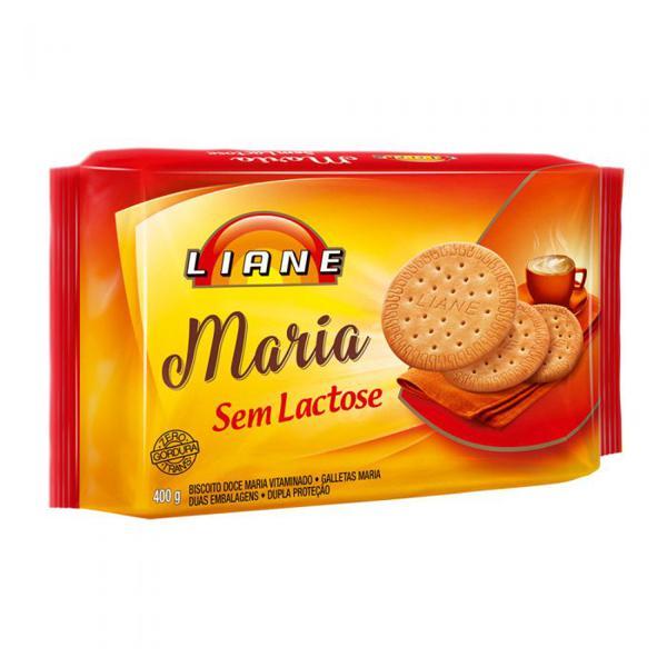Biscoito LIANE Maria Sem Lactose 400g