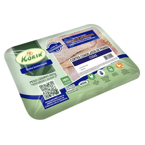 Coxa de frango sustentável 600g - Korin