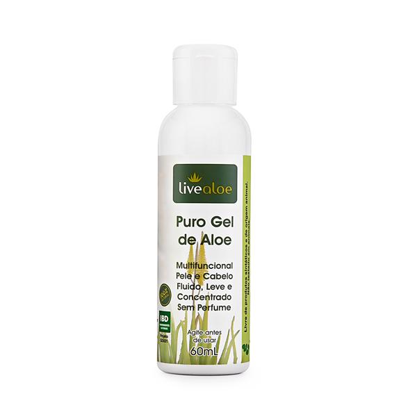 Puro gel de aloe 60ml - Livealoe