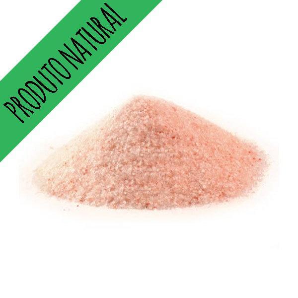 Sal Rosa fino do Himalaia 200 gr  - Produto Natural