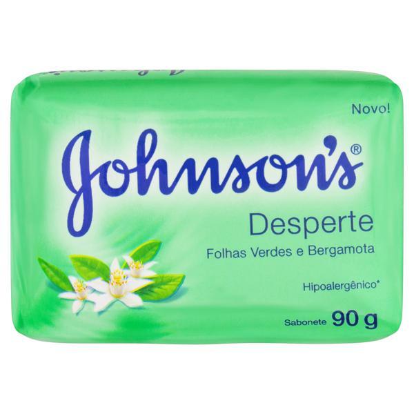 Sabonete em Barra Desperte Folhas Verdes e Bergamota Johnson's Cartucho 90g