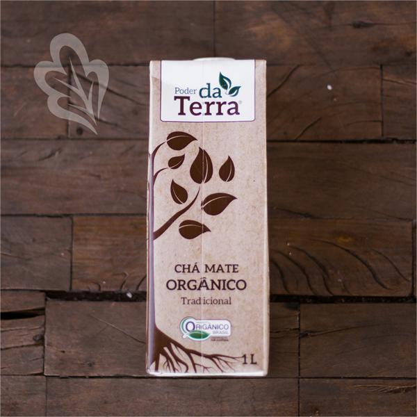 Chá Mate Orgânico Tradicional (1L)