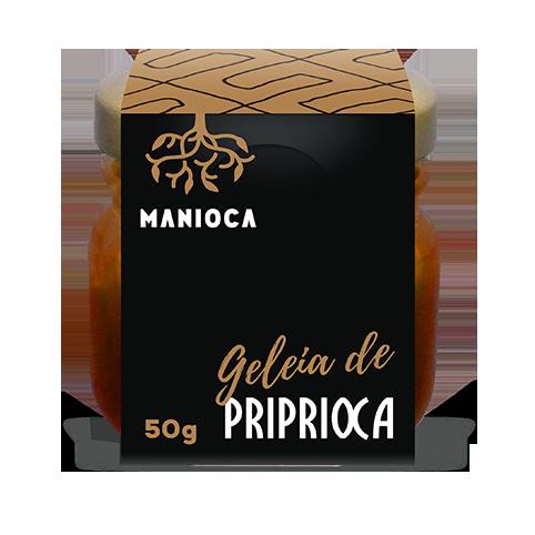 Geléia de pripioca 130g - Manioca Amazônia