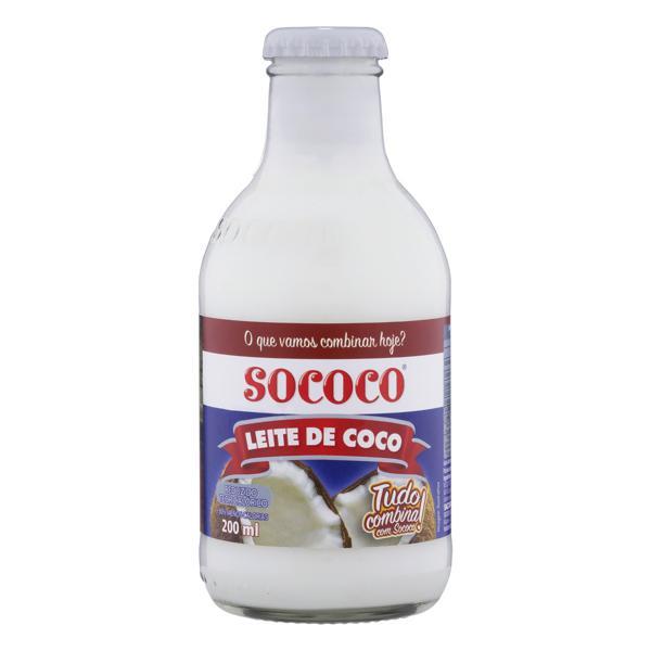 Leite de Coco RTC Sococo Vidro 200ml