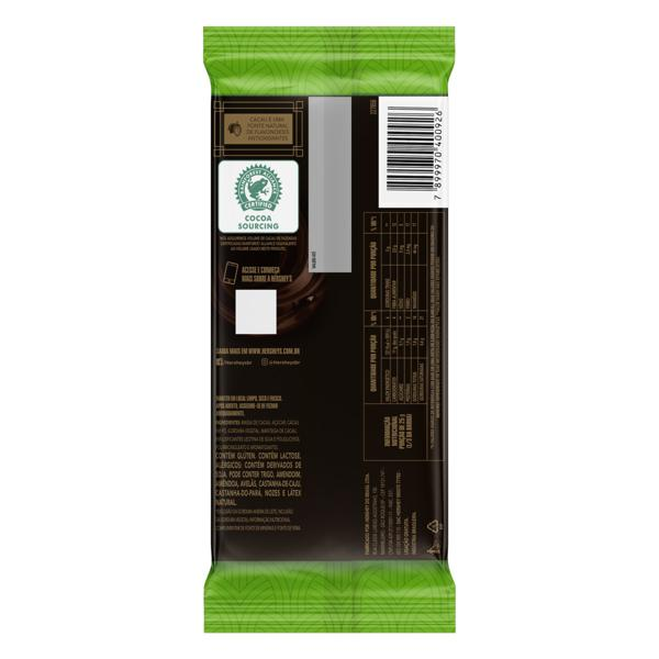 Chocolate Amargo 60% Cacau Menta Hershey's Special Dark Pacote 85g