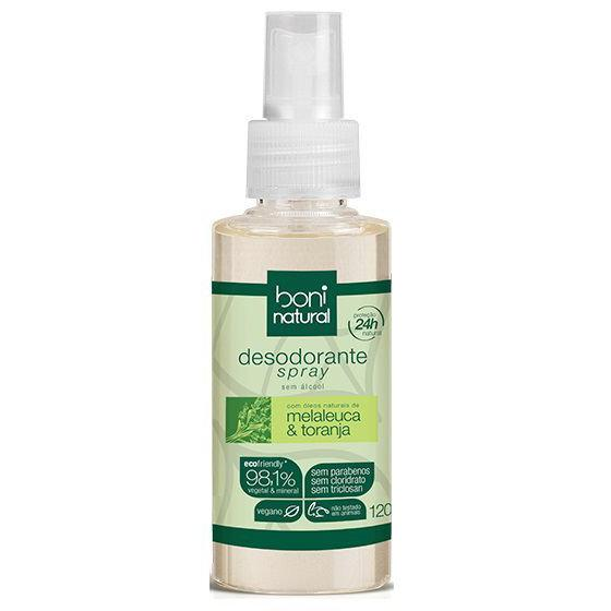 Desodorante spray 120ml - Boni Natural