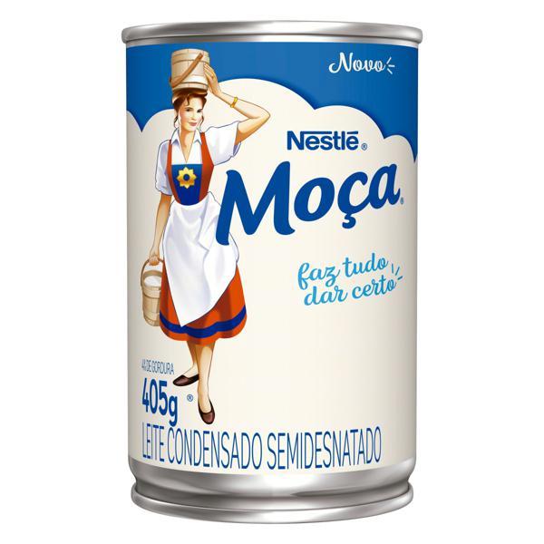Leite Condensado Semidesnatado Nestlé Moça Lata 405g
