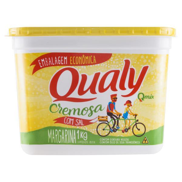 Margarina Cremosa com Sal Qualy Pote 1kg