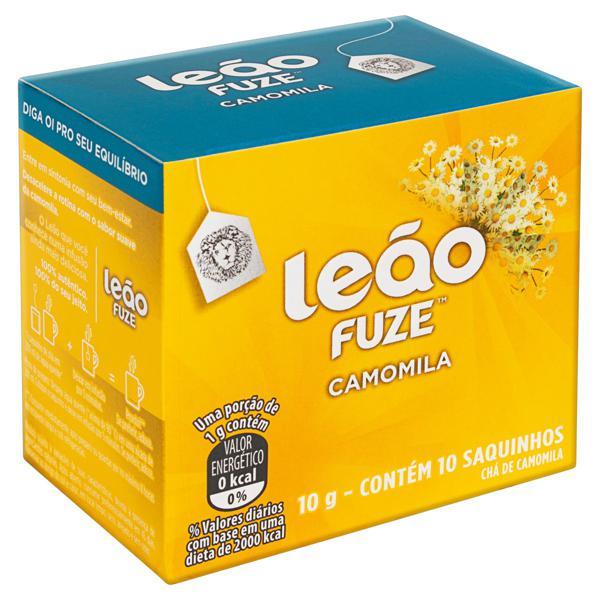 Chá Camomila Leão Fuze Caixa 10g 10 Unidades