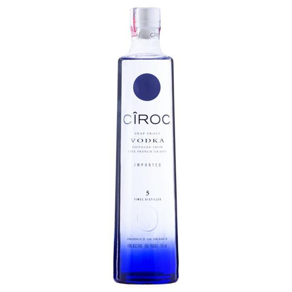 Vodka 5x Destilada Ciroc Garrafa 750ml