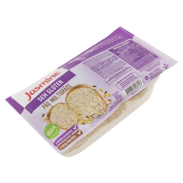 Pão de Sanduíche Multigrãos sem Glúten Jasmine Pacote 350g