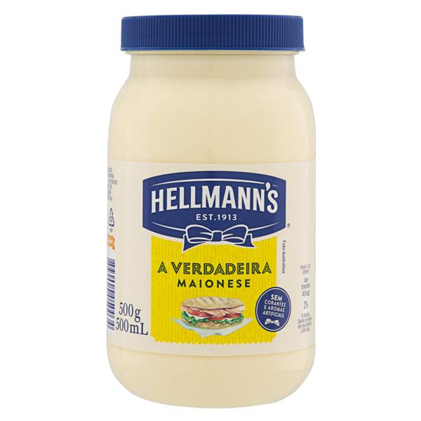 Maionese Hellmann's Pote 500g