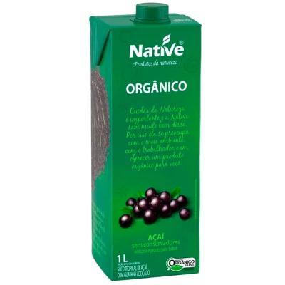 Suco Açaí Orgânico NATIVE 1L