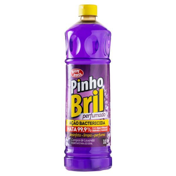 Desinfetante Multiuso Campos de Lavanda Pinho Bril Frasco 1l