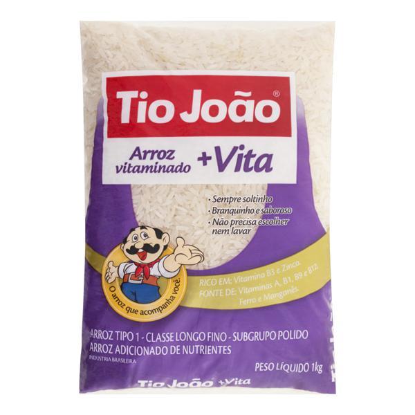 Arroz Polido Tipo 1 Tio João Pacote 1kg