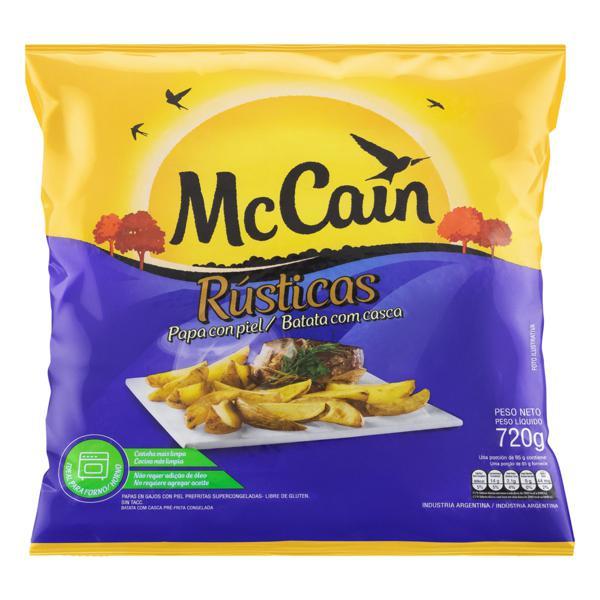 Batata Pré-Frita Rústica Congelada McCain Pacote 720g
