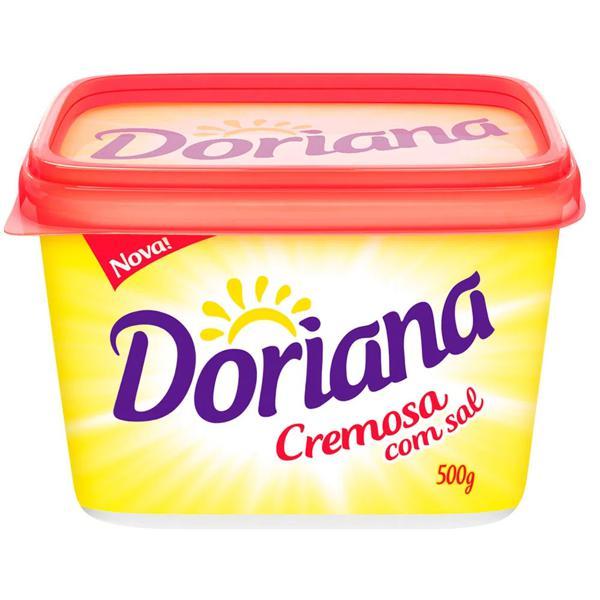 Margarina DORIANA Cremosa c/Sal 500g