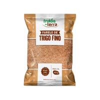 Farelo De Trigo Frutos Da Terra Fino 400G Pacote