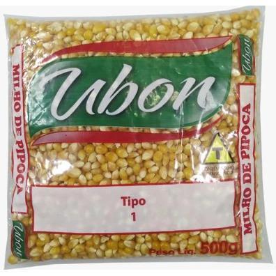 Milho para Pipoca UBON 500g