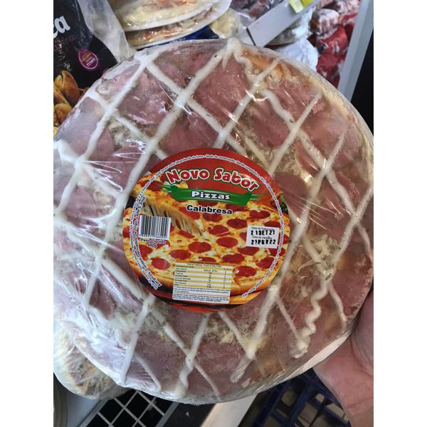 Pizza Novo Sabor Calabresa 480G Congelada