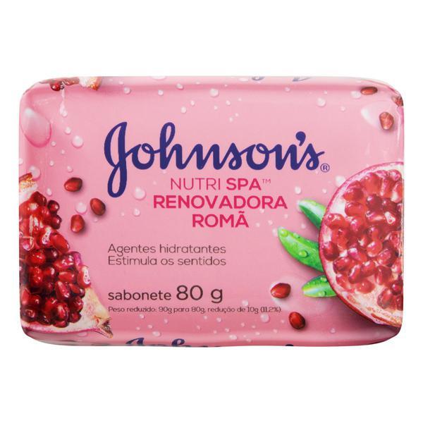 Sabonete em Barra Renovadora Romã Johnson's Nutri Spa Cartucho 80g