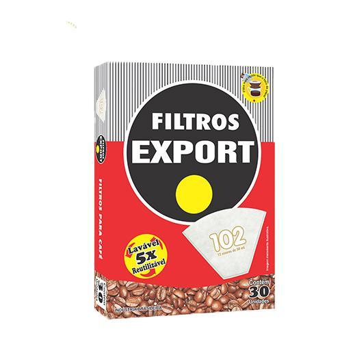 Filtros de Papel EXPORT 102 Com 30 Unidades
