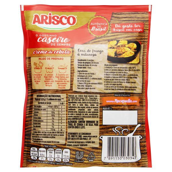 Creme Cebola Arisco Sachê 61g