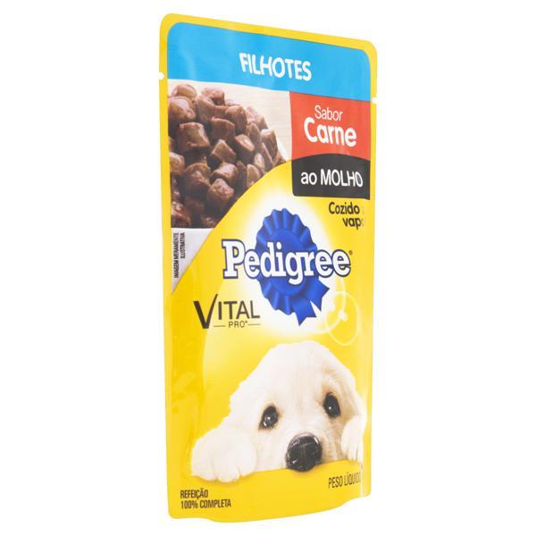 Alimento para Cães Filhotes Carne ao Molho Pedigree Vital Pro Sachê 100g