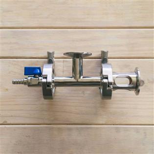 Kit de Oxigenação em Aço Inox para Transferências de Mosto para Fermentadores - Ss BrewTech