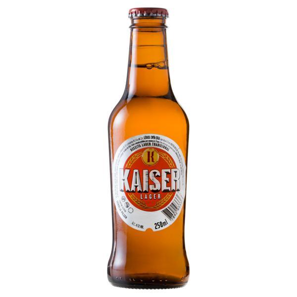 Cerveja Lager Kaiser Garrafa 250ml
