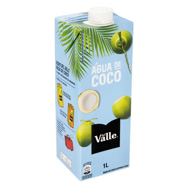 Água de Coco Esterilizada Del Valle Caixa 1l