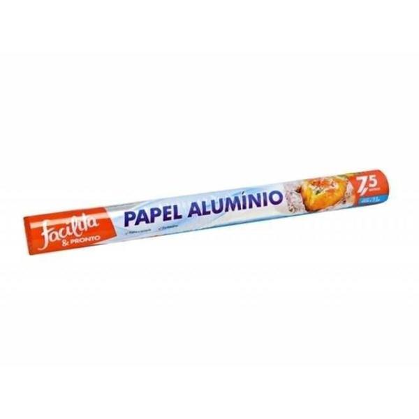 Papel Alumínio FACILITA & PRONTO Grande 45cm x 7,5m