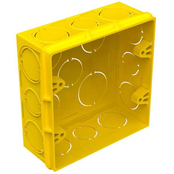À vista 10% desc (boleto) - Caixa De Luz 4 X 4 Amarela