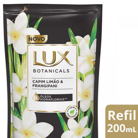 Sabonete Liquido Lux Capim Limao E Frangipani 200Ml